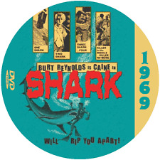 Shark (1969) Classic Action and Adventure 'B' Movie DVD NR