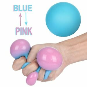 Squeeze Fidget Toy Squishy Stress Relief Tool Sensory Ball Kids Safe Adults Gift