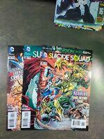 Suicide Squad 3 book lot #11,12,13 VF-NM  (2012)  D.C ~ New 52