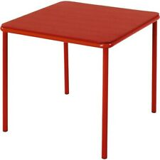 Cosco Kid's Vinyl Top Table Red