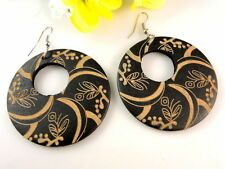 Alloy Black Fashion Earrings