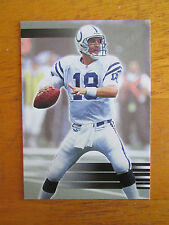 2000 Collector's Edge EG /5000 - NO NAME - ERROR - Peyton Manning #150 Colts