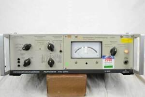 Siemens U3002 Geräuschspannungsmesser, Psophometer, 15Hz - 20kHz