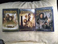 The Lord of the Rings Trilogy Dvd Theatrical Versions Of All 3 Movies