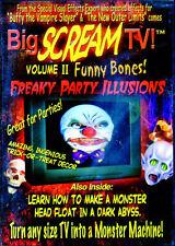 BIG SCREAM TV VOL. 2: FUNNY BONES! - VIRTUAL HALLOWEEN HAUNTED HOUSE CLOWNS DVD!