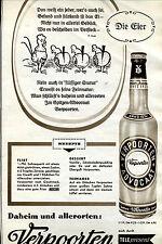 Verpoorten--Eierlikör--Mit Rezepte--Die Eier--Werbung von 1960--