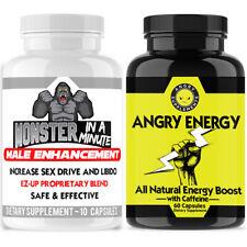 #1 Male Enhancement Best Enhancement Pills Monster Test Minute + Energy Pills