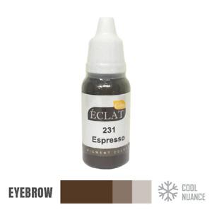 Eclat Tattoo Ink Semi Permanent Makeup Pigment Colors Liquid Type 15ml