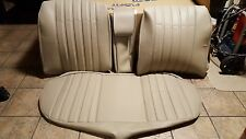 BMW E28 528I 535i M5 REAR SEAT KIT OEM GERMAN VINYL UPHOLSTERY KIT BEAUTIFUL NEW