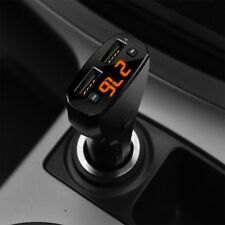 Bluetooth Car Hands-free FM Transmitter + Dual USB Charger MP3 Player Kit