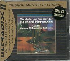 Herrmann, Bernard The Mysterious Film World of MFSL Gold CD Neu OVP Sealed mit J