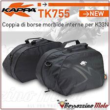 COPPIA BORSE INTERNE MORBIDE KAPPA TK755 PER VALIGIE LATERALI RIGIDE K33 K-ROAD