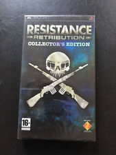 RESISTANCE RETRIBUTION COLLECTOR'S EDITION, PSP PAL, neuf sous blister