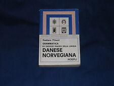 Frisoni Grammatica Danese Norvegiana Hoepli Reprint