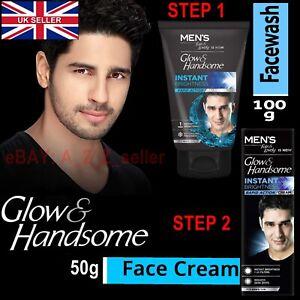 🇬🇧 **MEN face Skin Brightness whitening spot SUN protection Face wash & Cream