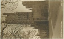 Real photo; Ely cathedral west front 1930 judges