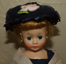 Vintage Madame Alexander BLONDE CISSETTE in 820 NAVY TAFFETA Complete Outfit