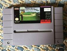 Pebble Beach Golf Links SNES Super Nintendo -- AUTHENTIC!