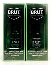 2X Bottles BRUT Classic Scent After Shave Cologne 3oz, Plastic Bottle In Box