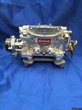 """B-"" cosmetic Grade Remanufactured Edelbrock 600 cfm electric choke carburetor"