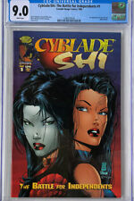 CYBLADE SHI THE BATTLE FOR INDEPENDENTS 1 (1995) IMAGE CGC 9.0