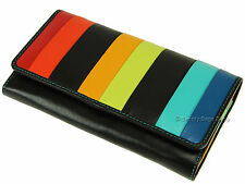 Visconti Ladies RFID Blocking Gift Boxed Leather Purse for Notes Cards - Str4