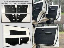 Full Set Toyota Land Cruiser 60 Series ABS Door & Cargo Trim Panels & Tailgate