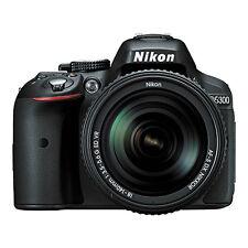 Nikon D5300 Digital SLR Camera 24.2 MP Black with 18-140mm VR AF-S DX Zoom Lens