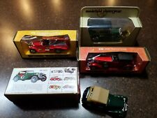 4 Matchbox Models of Yesteryear Y5,Y6,Y8 & Y17- Talbot, RR fire engine, MGTC