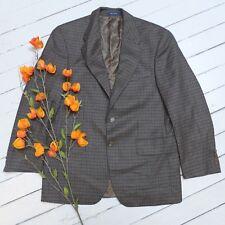 Vintage Men's Chaps RALPH LAUREN RL Plaid Coat Jacket Size 38 (S) (GREAT)