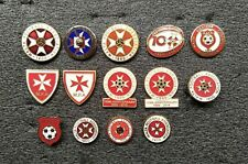 MALTA  Football Association Federation pin badge LOT