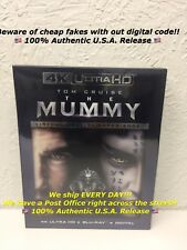 The Mummy 2017 4K Ultra HD/Blu-ray/Digital V.R. Experience Brand New Sealed!