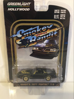 Smokey and the Bandit 1977 Pontiac T/A Greenlight 44710A 1:64 Scale