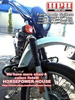 """33mm Fork Boots @ Many late 70's 80's Harley Davidson Models with 35mm Forks 8"""""""