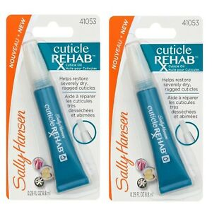 Sally Hansen Cuticle Rehab Cuticle Oil (2 Pack) Free Fast Shipping