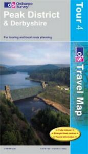 Peak District and Derbyshire (OS Travel ... by Ordnance Survey Sheet map, folded