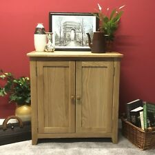 Oak Linen Cupboard / Storage Cabinet Solid Wood Sideboard / Harvard