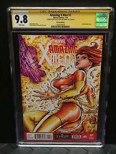 X-Men Jean Grey Phoenix 9.8 SKETCH COVER Chris McJunkin CGC SIGNATURE SERIES SS