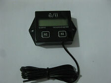 Hour Meter with Tach Reset-able Job Timer