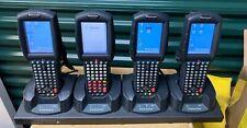 Lot Of(4) Datalogic Falcon 4420 Psc Handheld Barcode Scanner Mobile Computer