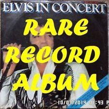 Elvis Presley-Elvis In Concert LP record 33 tr/min RARE GREEK Import VG/G