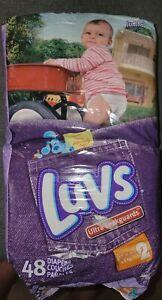 Vintage Luvs Blues Clues Diapers