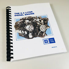 GM 6.2L DIESEL ENGINE SERVICE MANUAL REPAIR OVERHAUL TROUBLESHOOT SHOP LL4 LH6