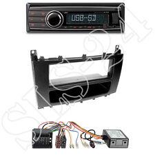 Caliber RMD212 Radio + Mercedes C-Kl. 1-DIN Blende mit Fach + CAN-Bus Adapter