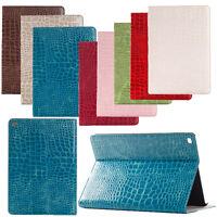 Crocodile Leather Protector Skin Case Cover For iPad 9.7 Mini 5 Air 3 2 Pro 12.9