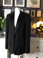 next 18 r 16 blazer black tuxedo blogger trend classic elegant