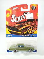 Hot Wheels Since '68 - 1970 Chevelle SS Top 40 Anniversary 2007 NEW w/ Protector