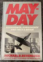 May-Day Eisenhower Khrushchev U2 Affair Michael Beschloss New Sealed Vintage