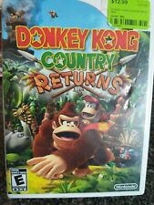 Donkey Kong Country Returns Nintendo Wii 2010 COMPLETE With Manual *TESTED*