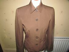 Brown Jacket Size Medium By Chaps